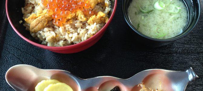 利尻島リベンジの旅〜島食のフィナーレは、「うにめし丼」でした〜